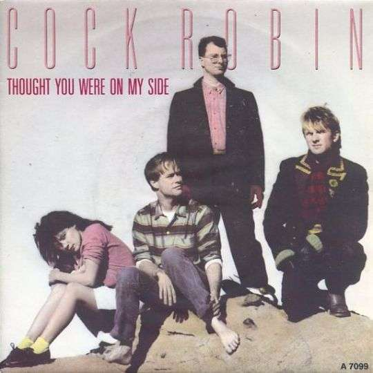 Coverafbeelding Thought You Were On My Side - Cock Robin