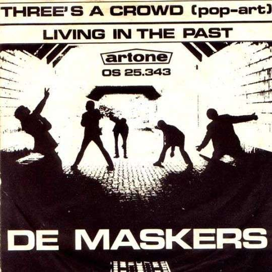 Coverafbeelding Three's A Crowd (Pop-Art) - De Maskers