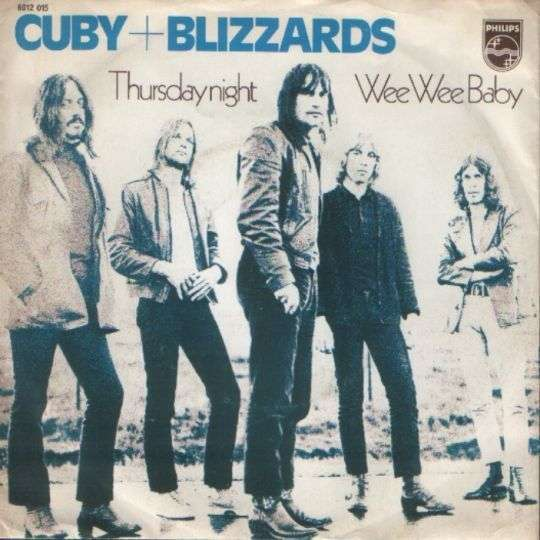 Coverafbeelding Thursday Night - Cuby + Blizzards