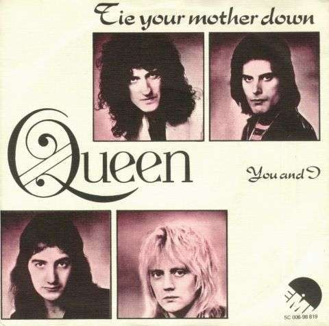 Coverafbeelding Tie Your Mother Down - Queen