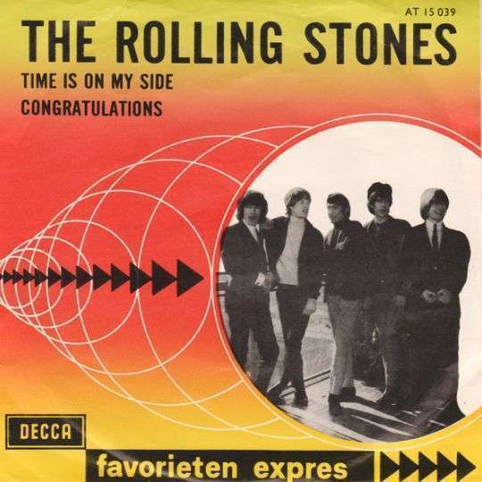Coverafbeelding Time Is On My Side - The Rolling Stones