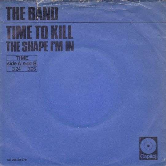Coverafbeelding Time To Kill - The Band