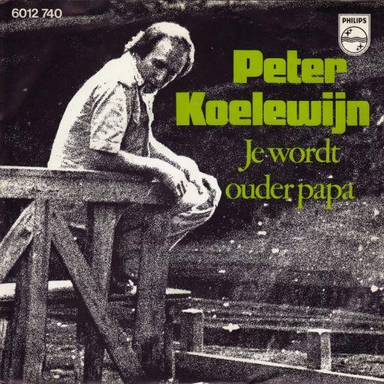 Coverafbeelding Je Wordt Ouder Papa - Peter Koelewijn