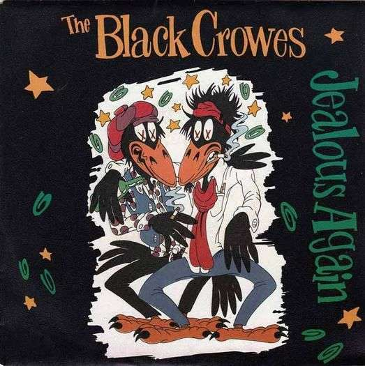 Coverafbeelding Jealous Again - The Black Crowes