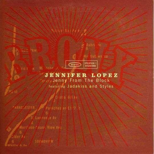 Coverafbeelding Jenny From The Block - Jennifer Lopez Featuring Jadakiss And Styles