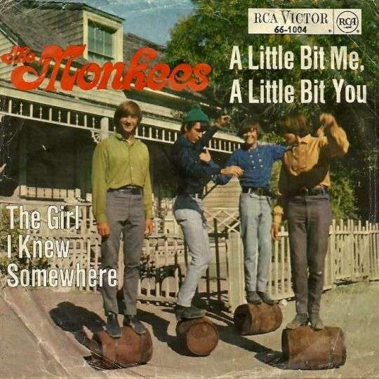 Coverafbeelding The Monkees - A Little Bit Me, A Little Bit You