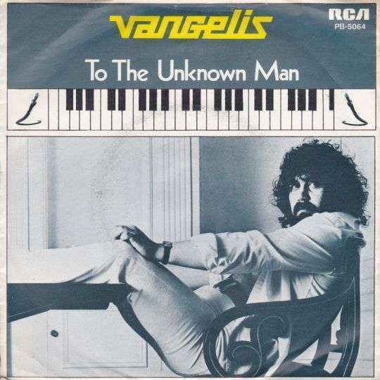 Coverafbeelding Vangelis - To The Unknown Man