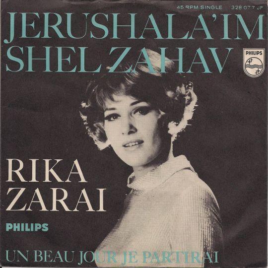Coverafbeelding Jerushala'im Shel Zahav - Rika Zarai