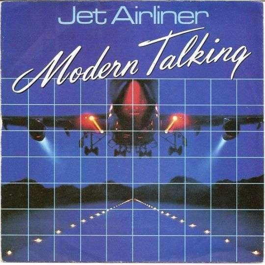 Coverafbeelding Jet Airliner - Modern Talking
