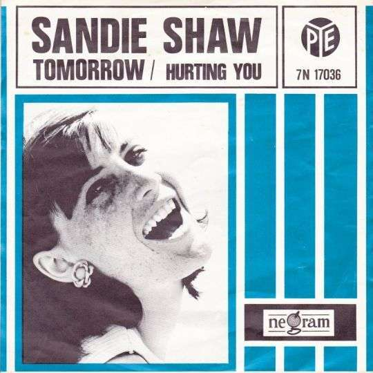 Coverafbeelding Tomorrow - Sandie Shaw
