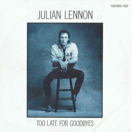 Coverafbeelding Julian Lennon - Too Late For Goodbyes