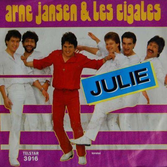 Coverafbeelding Julie - Arne Jansen & Les Cigales