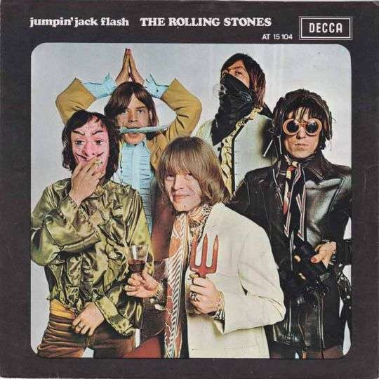 Coverafbeelding Jumpin' Jack Flash - The Rolling Stones