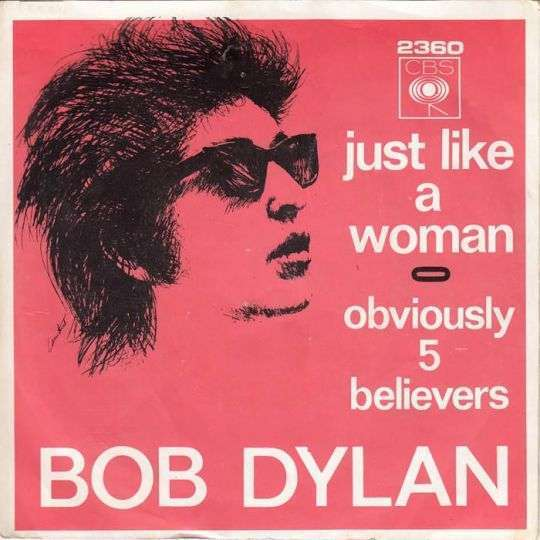 Coverafbeelding Just Like A Woman - Bob Dylan