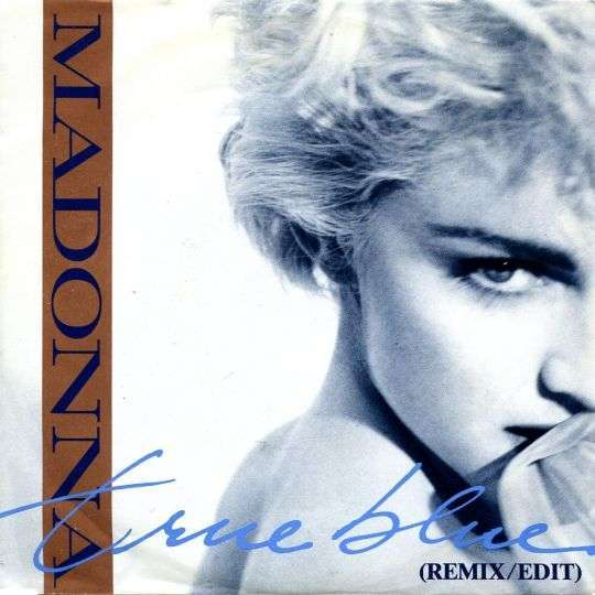 Coverafbeelding Madonna - True Blue