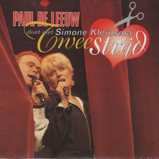 Coverafbeelding Tweestrijd - Paul De Leeuw - Duet Met Simone Kleinsma