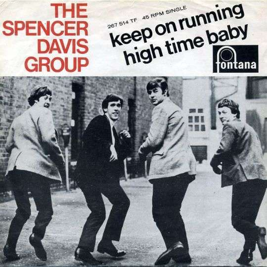 Coverafbeelding Keep On Running - The Spencer Davis Group