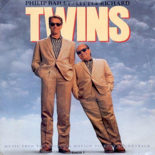 Coverafbeelding Twins - Philip Bailey/little Richard