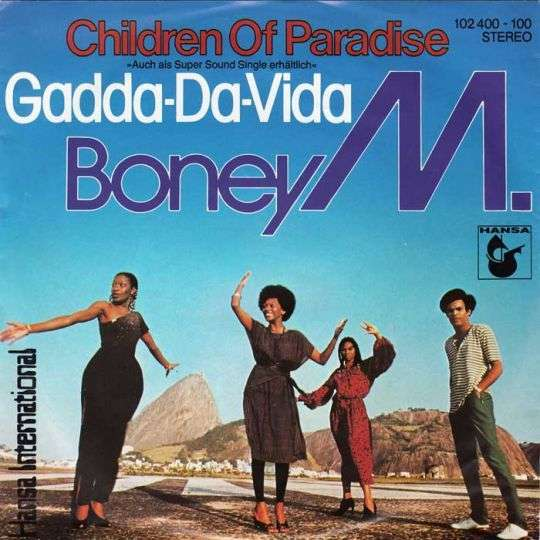 Coverafbeelding Children Of Paradise - Boney M.