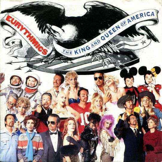 Coverafbeelding The King And Queen Of America - Eurythmics