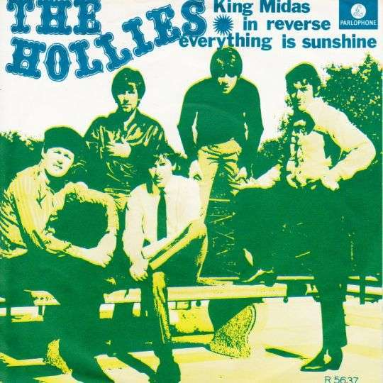 Coverafbeelding The Hollies - King Midas In Reverse