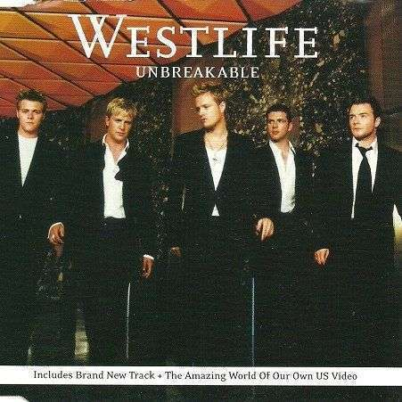 Coverafbeelding Unbreakable - Westlife
