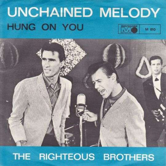 Coverafbeelding Unchained Melody / Unchained Melody - Original Version From The Movie Ghost - The Righteous Brothers