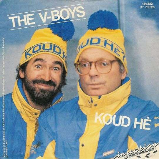 Coverafbeelding Koud Hè - The V-boys