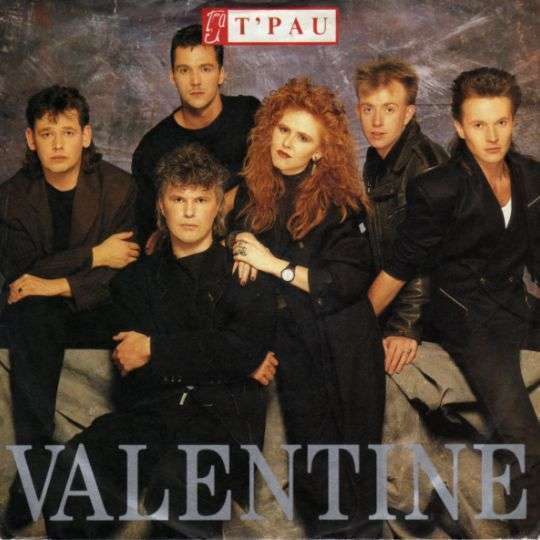 Coverafbeelding Valentine - T'pau