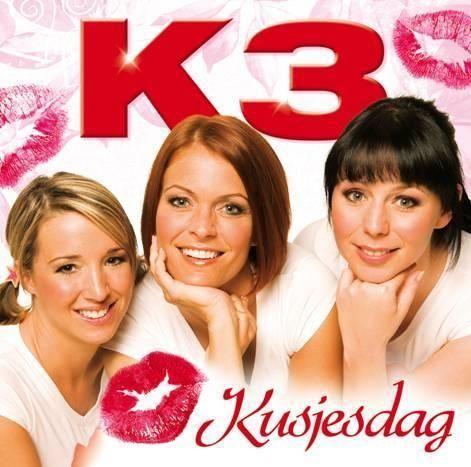 Coverafbeelding Kusjesdag - K3