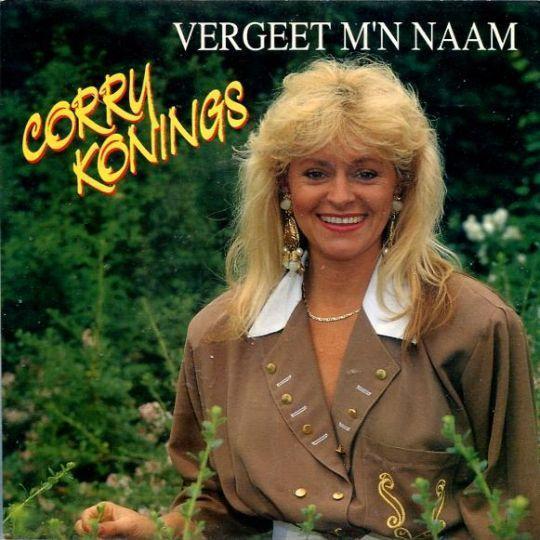 Coverafbeelding Vergeet M'n Naam - Corry Konings