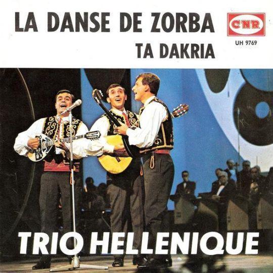 Coverafbeelding La Danse De Zorba// Sirtaki ((1965)) / Zorba Le Grec ((1965)) / Zorba De Griek// Zorba Le Grec ((1965)) / Zorba's Dance ((1974)) - Trio Hellenique / Duo Acropolis / Mikis Theodorakis / Trio Hellenique