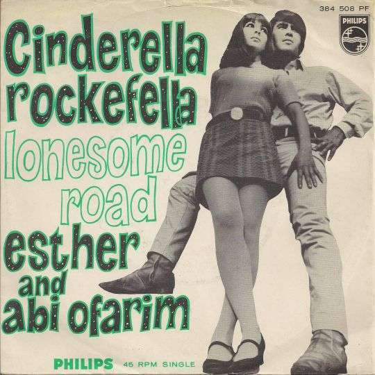 Coverafbeelding Esther and Abi Ofarim - Cinderella Rockefella