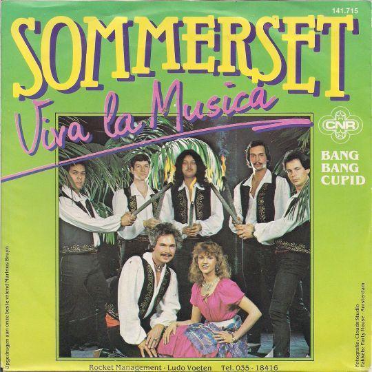 Coverafbeelding Viva La Musica - Sommerset