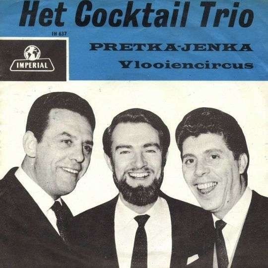Coverafbeelding Vlooiencircus - Het Cocktail Trio