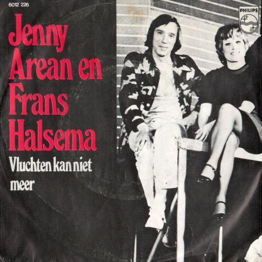 Coverafbeelding Jenny Arean en Frans Halsema - Vluchten Kan Niet Meer