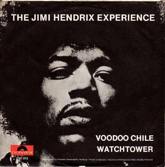 Coverafbeelding Voodoo Chile - The Jimi Hendrix Experience