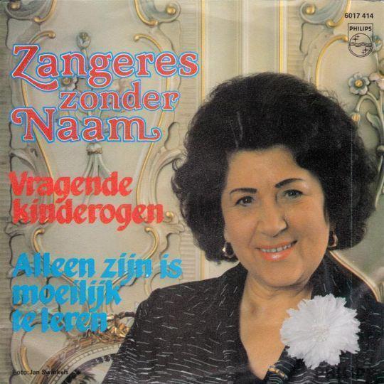 Coverafbeelding Zangeres Zonder Naam - Vragende Kinderogen