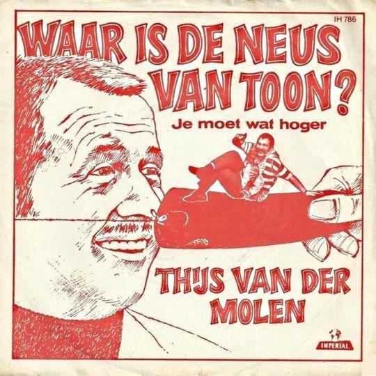 Coverafbeelding Waar Is De Neus Van Toon? - Thijs Van Der Molen