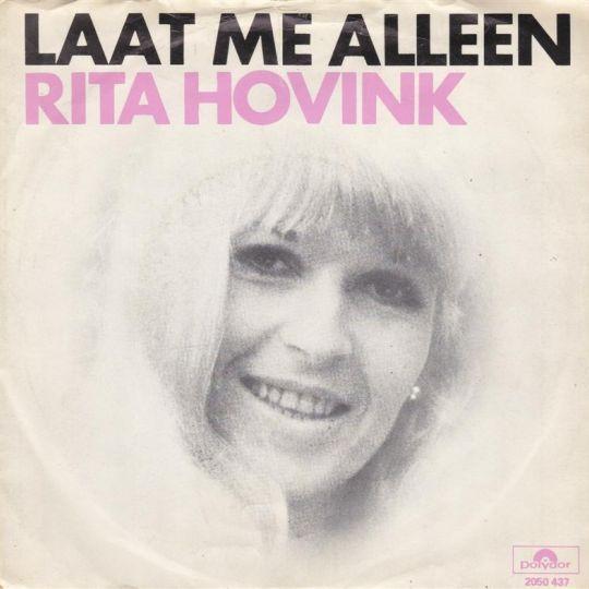 Coverafbeelding Laat Me Alleen - Rita Hovink
