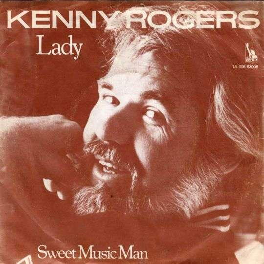 Coverafbeelding Lady - Kenny Rogers