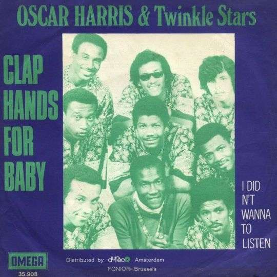 Coverafbeelding Clap Hands For Baby - Oscar Harris & Twinkle Stars
