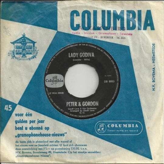 Coverafbeelding Lady Godiva - Peter & Gordon
