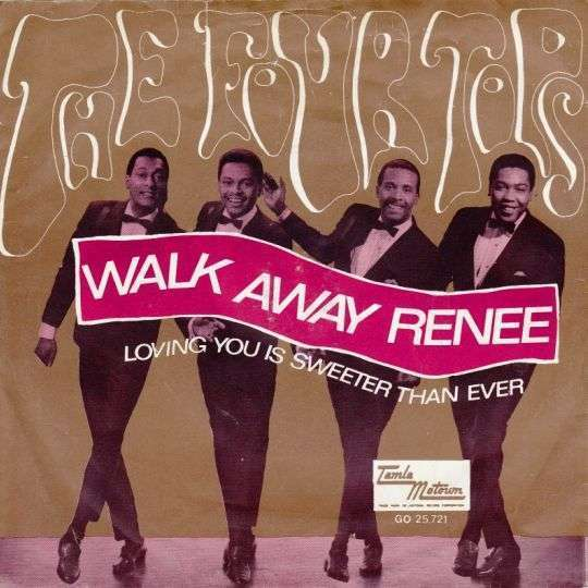 Coverafbeelding Walk Away Renee - The Four Tops