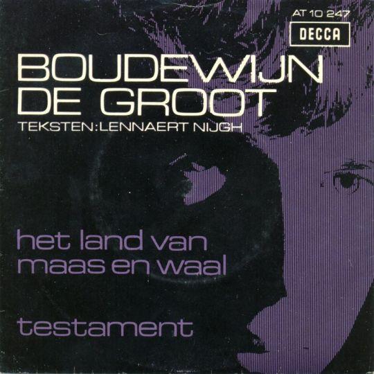 Coverafbeelding Het Land Van Maas En Waal - Boudewijn De Groot