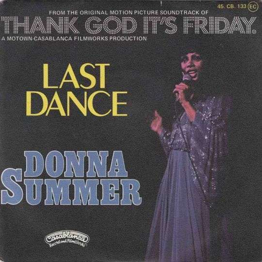 Coverafbeelding Donna Summer - Last Dance