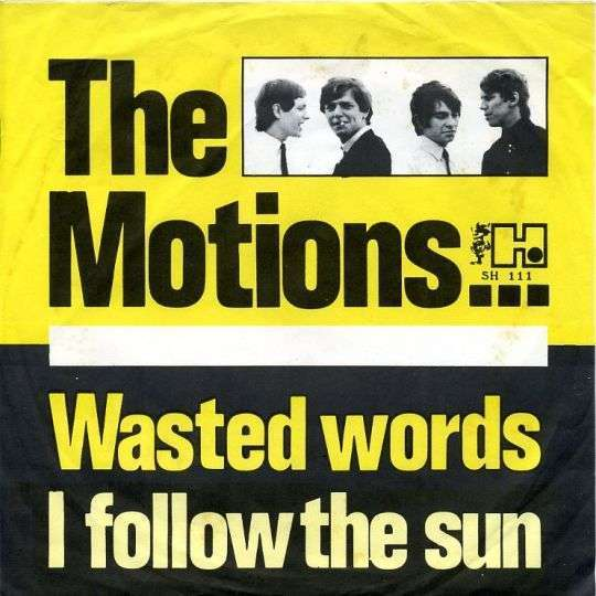Coverafbeelding Wasted Words - The Motions