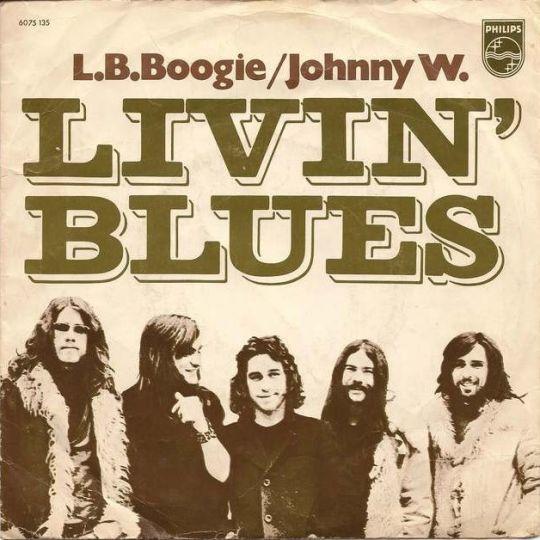 Coverafbeelding L.b. Boogie - Livin' Blues