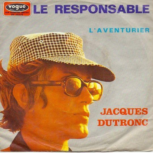 Coverafbeelding Le Responsable - Jacques Dutronc