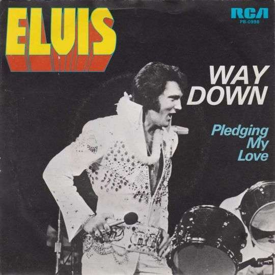 Coverafbeelding Way Down - Elvis Presley